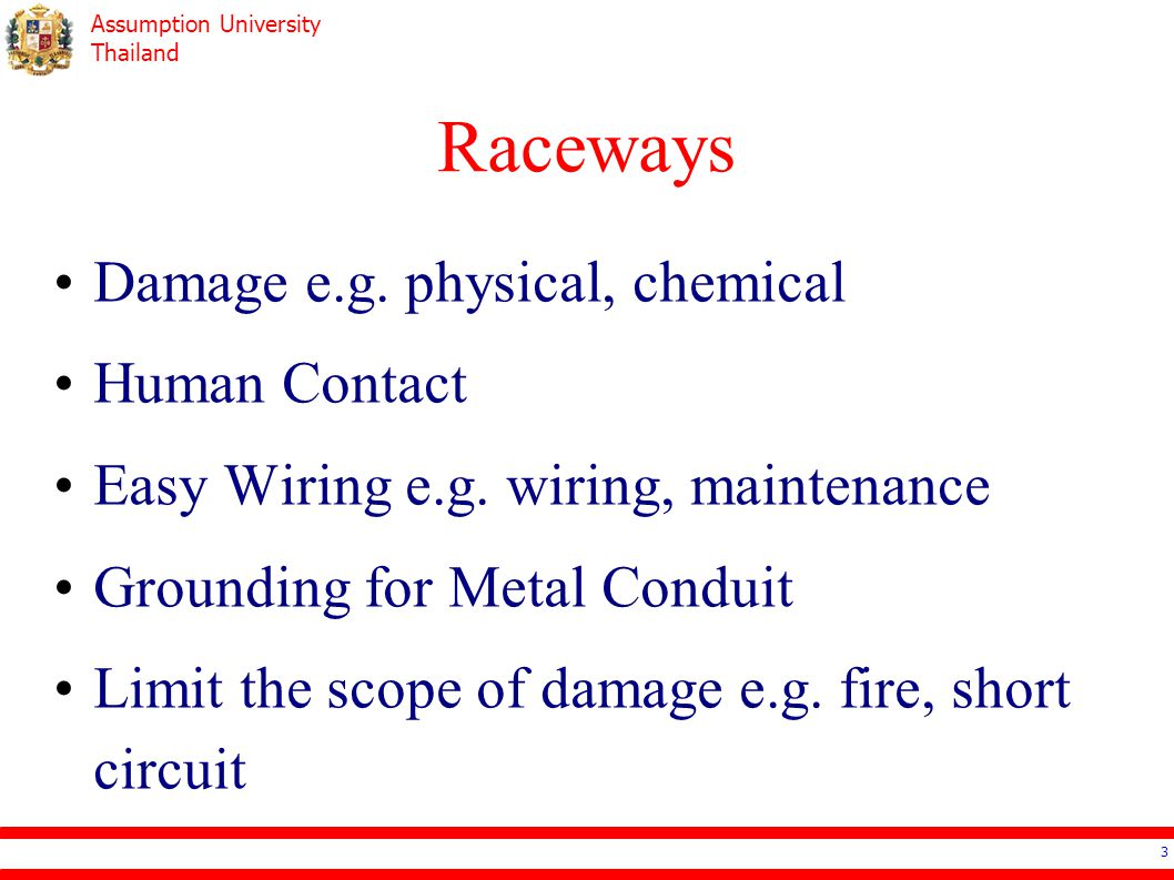 Assumption University Thailand Raceways Damage e.g.
