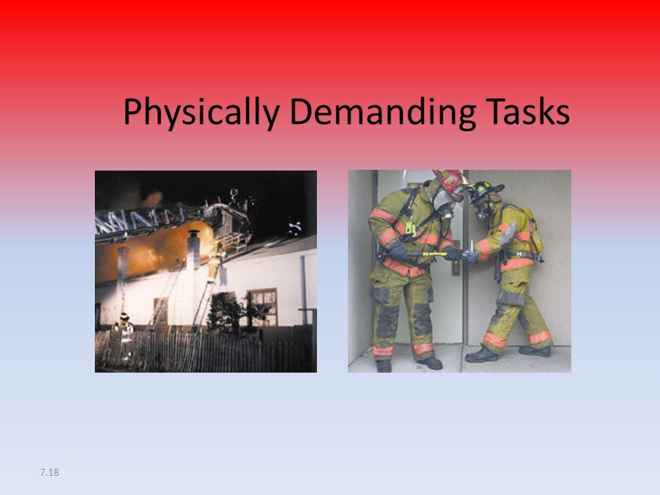 7.18 Physically Demanding Tasks