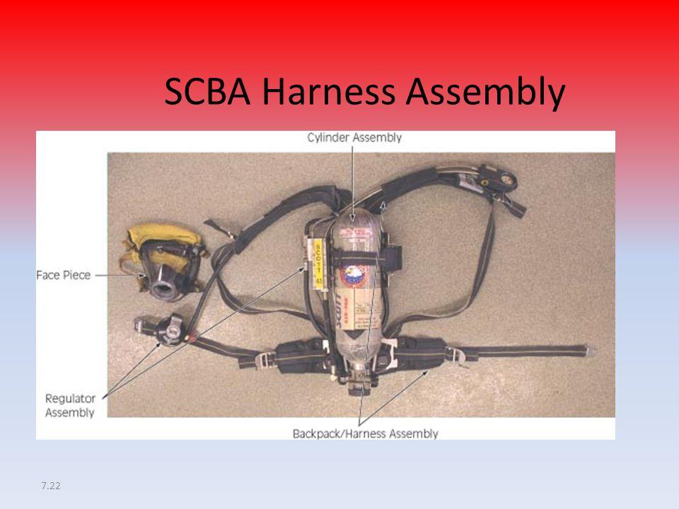 7.22 SCBA Harness Assembly