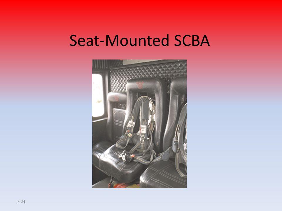 7.34 Seat-Mounted SCBA