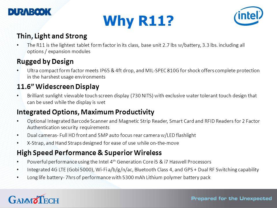 Why R11.