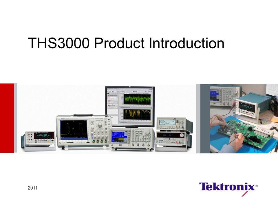 THS3000 Product Introduction 2011