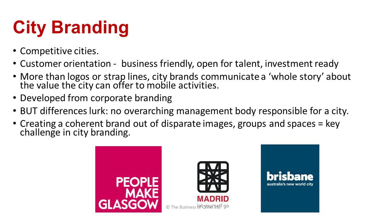 City Branding Competitive cities.