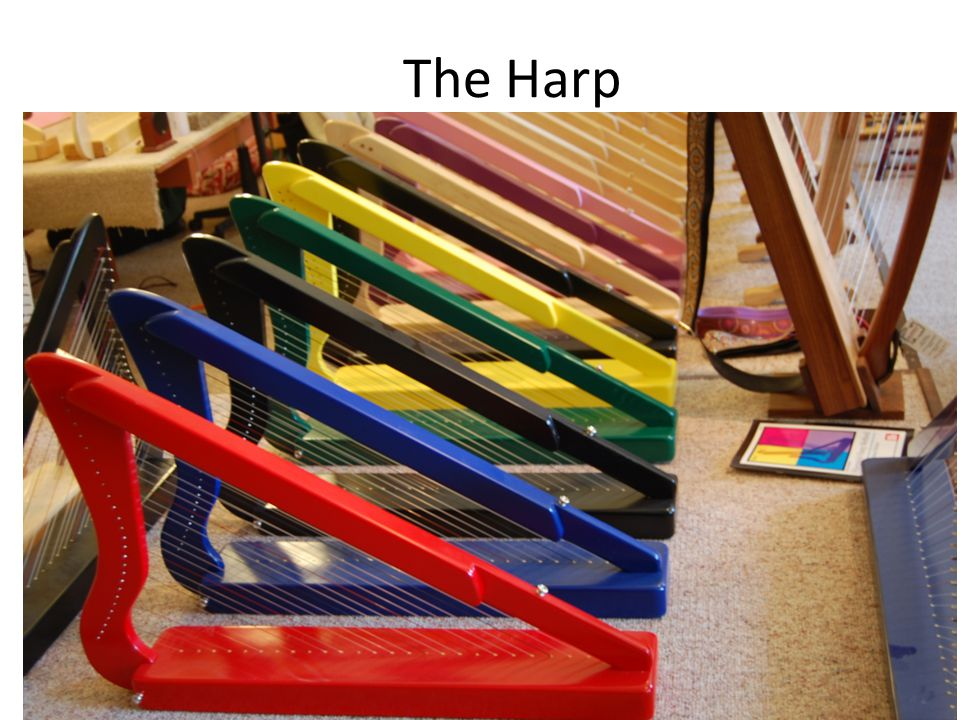 The Harp Fun Facts If you are a beginning harp student Harpsicle Harp Co. may have just the harp for you! The company's brightly colored Harpsicles ar