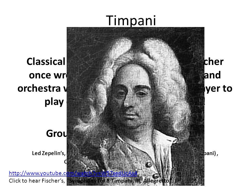 Timpani FUN FACTS!.
