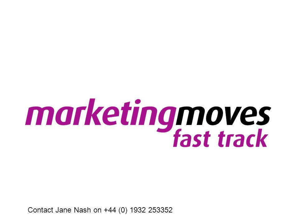 Contact Jane Nash on +44 (0) 1932 253352