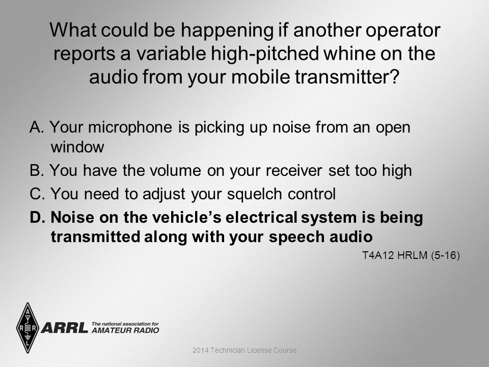 A. Your microphone is picking up noise from an open window B.