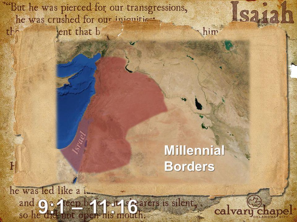 Israel MillennialBorders