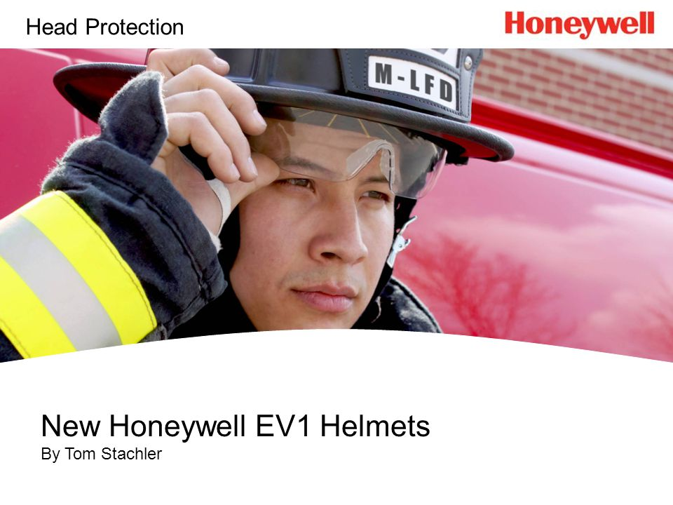 New Honeywell EV1 Helmets By Tom Stachler Head Protection
