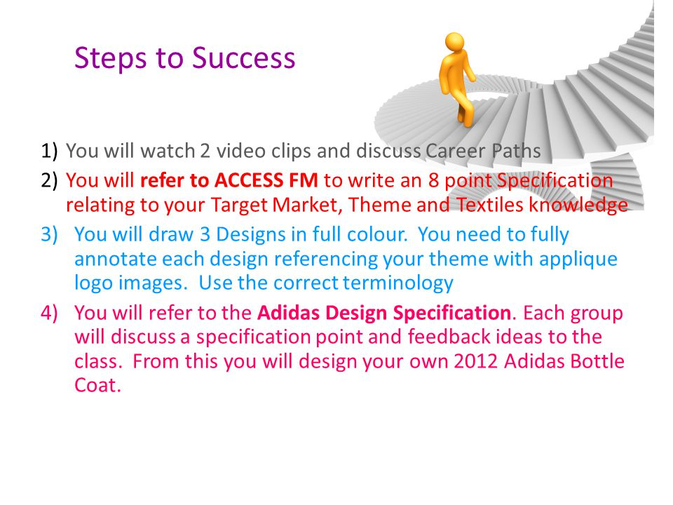 2)Are you able to write a Design Specification for a Bottle Coat.