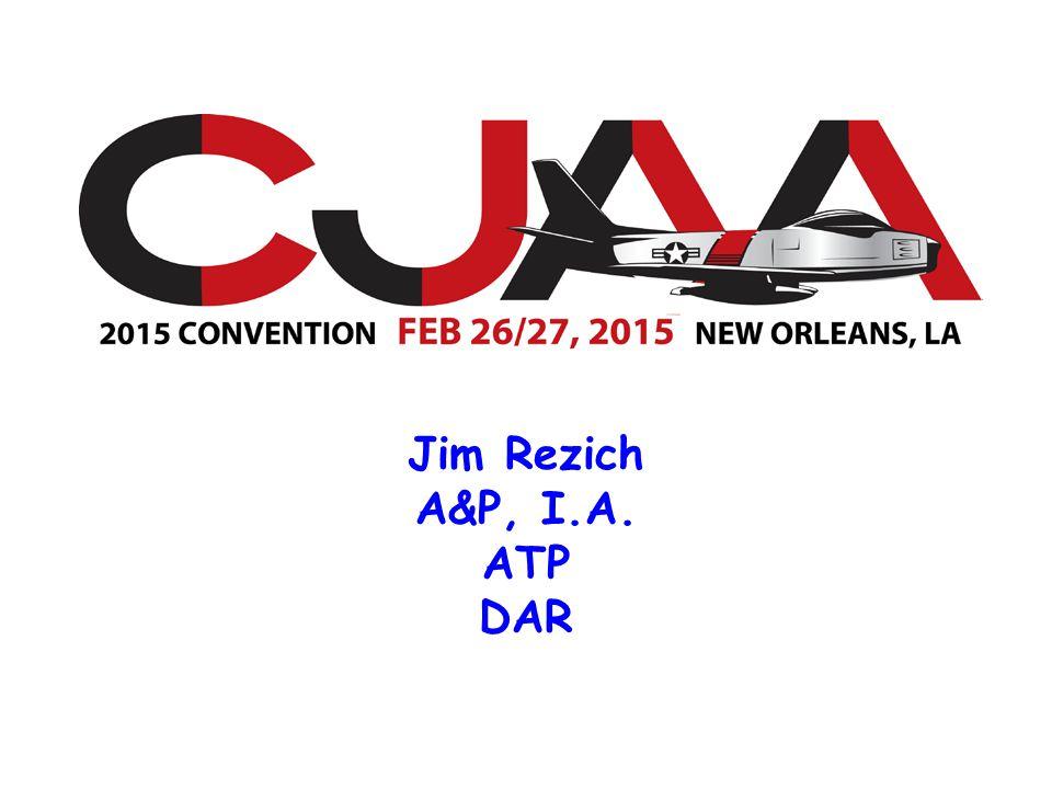 Jim Rezich A&P, I.A. ATP DAR