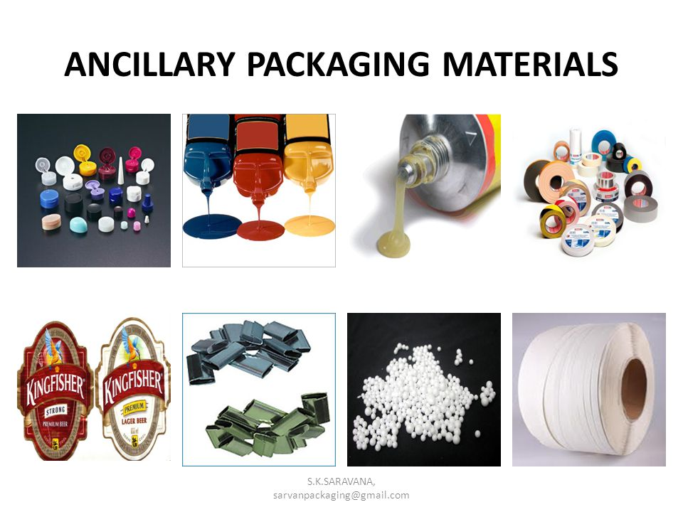 ANCILLARY PACKAGING MATERIALS S.K.SARAVANA, sarvanpackaging@gmail.com