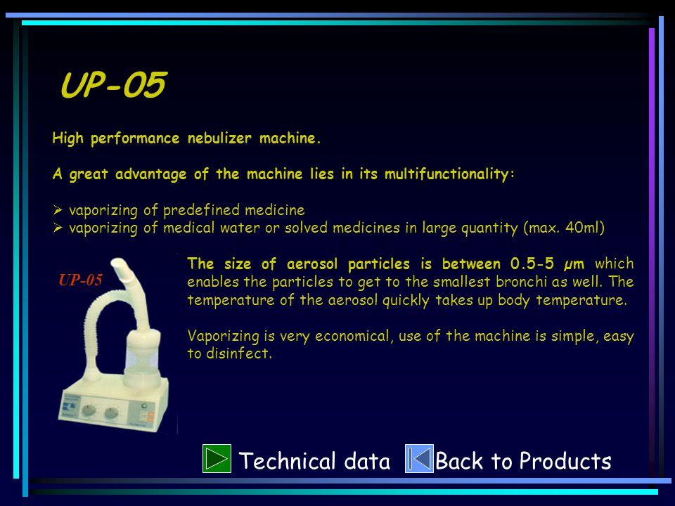 UP-05 High performance nebulizer machine.