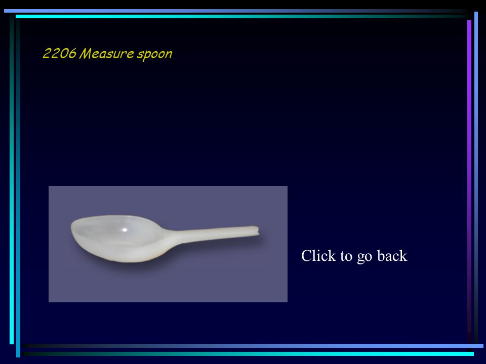 2206 Measure spoon Click to go back
