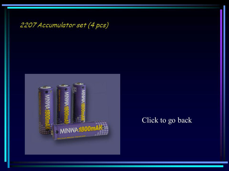 2207 Accumulator set (4 pcs) Click to go back