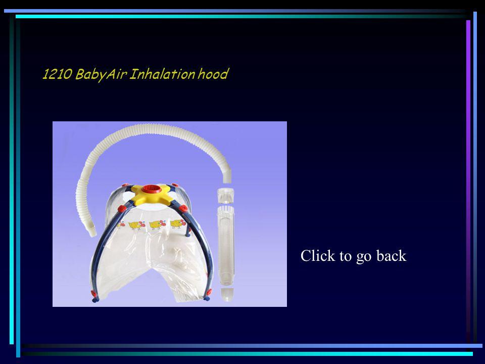 1210 BabyAir Inhalation hood Click to go back