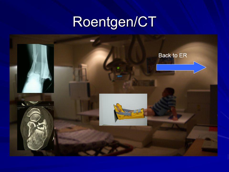 Roentgen/CT Back to ER