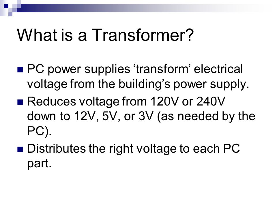 What is a Transformer.