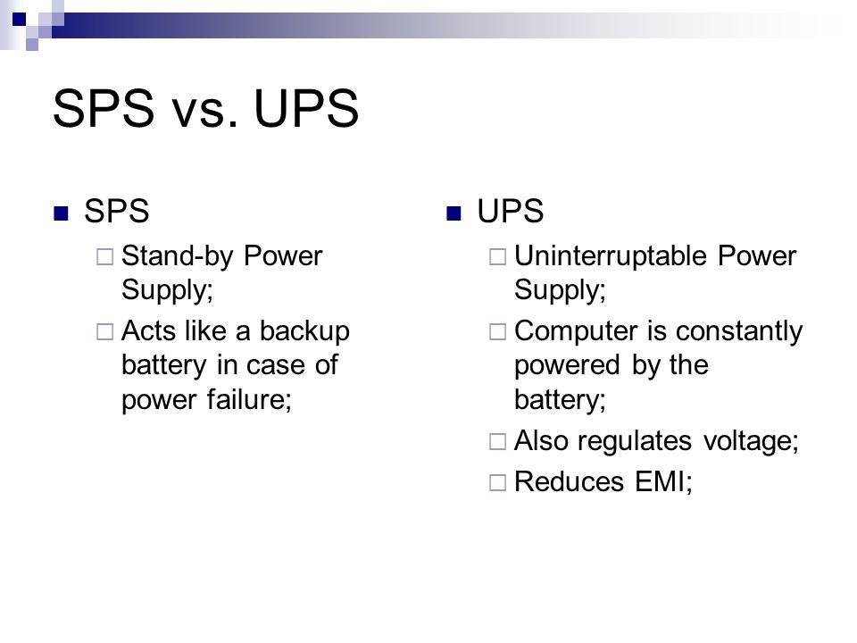SPS vs.