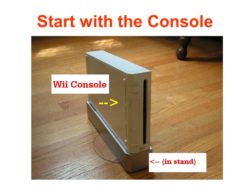 Start with the Console
