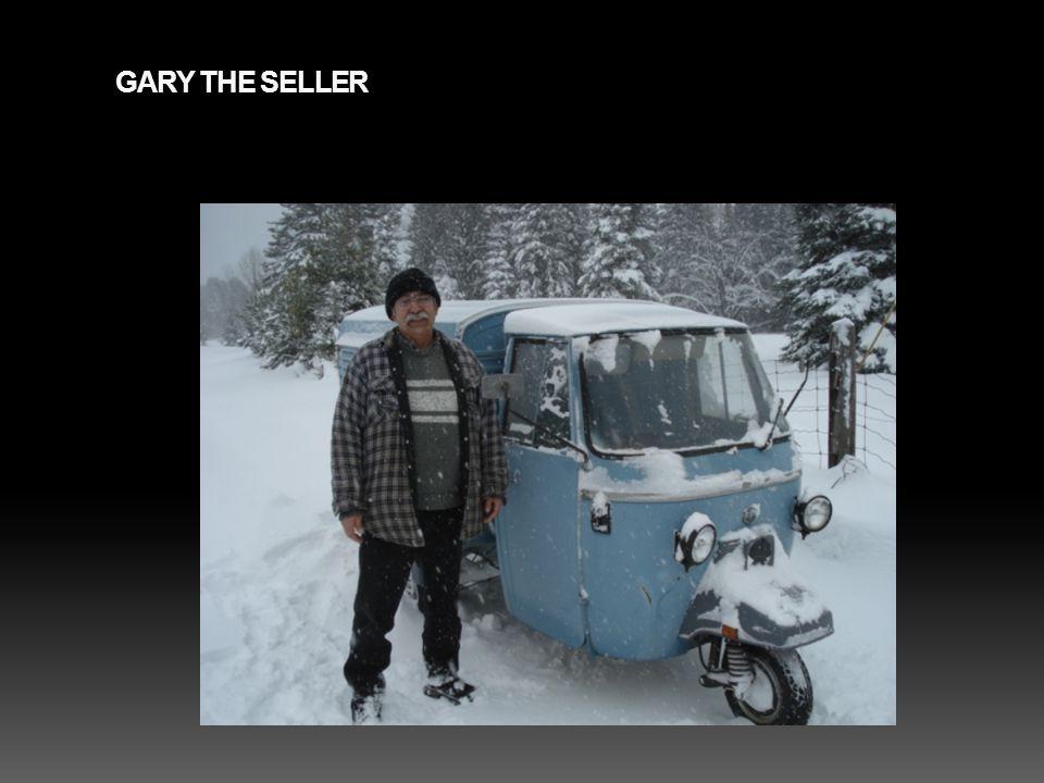 GARY THE SELLER