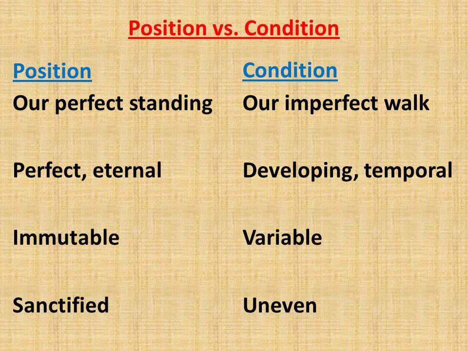 Position vs.