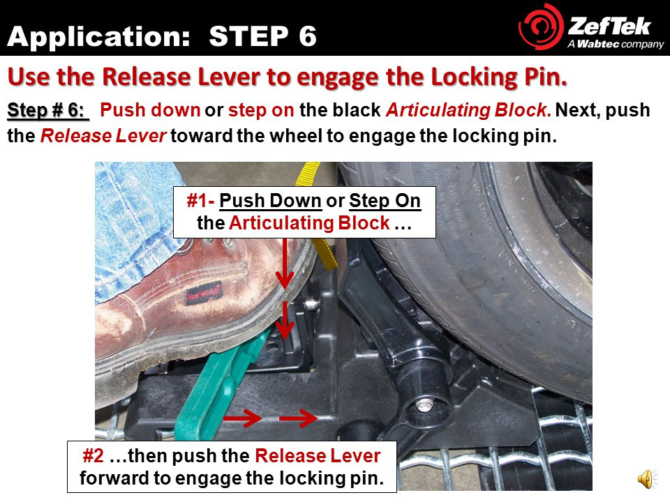 Position the Sta-Put™ device against the wheel.