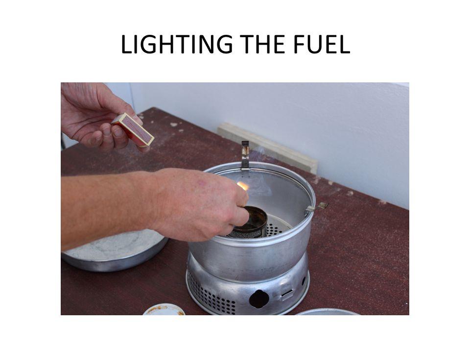 LIGHTING THE FUEL