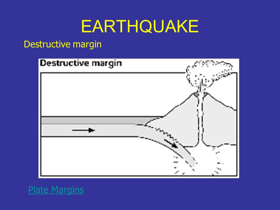 EARTHQUAKE Collision margin