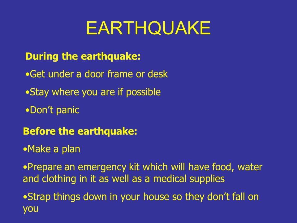 Earthquakes are measured using seismographs which record the energy of the quake.