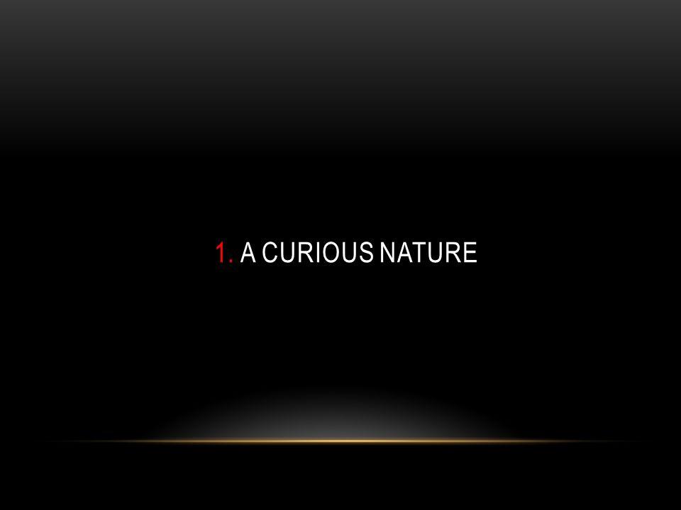 1. A CURIOUS NATURE