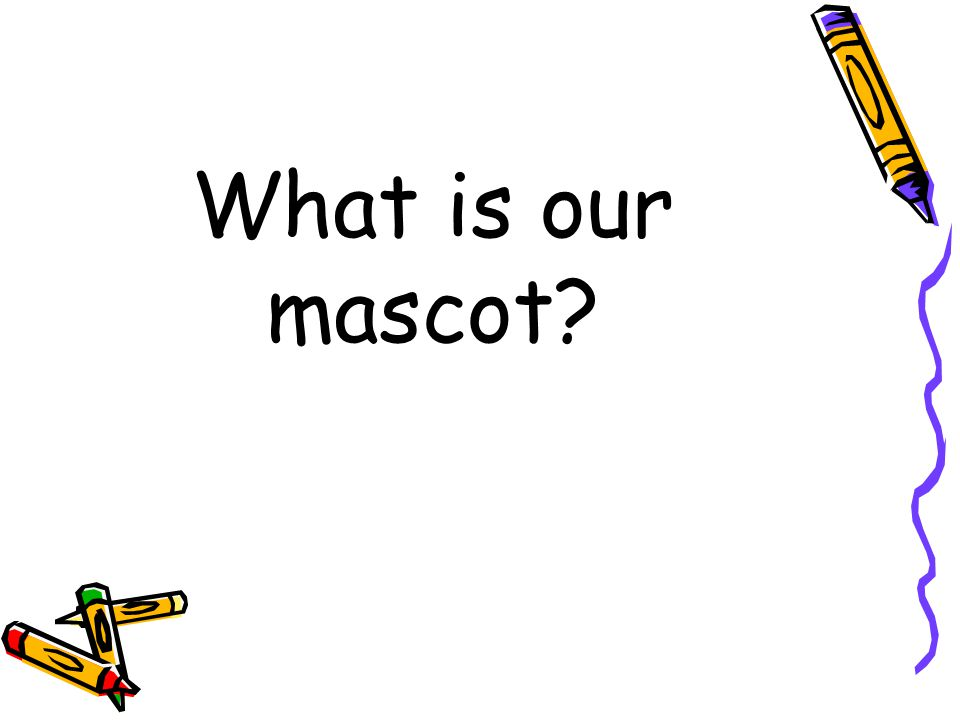 What is our mascot?