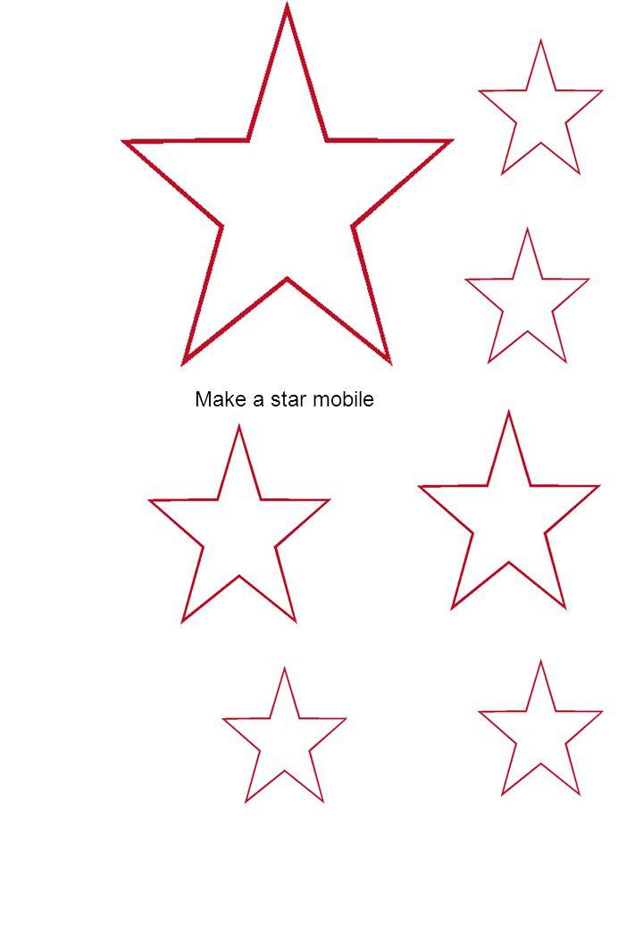 Make a star mobile