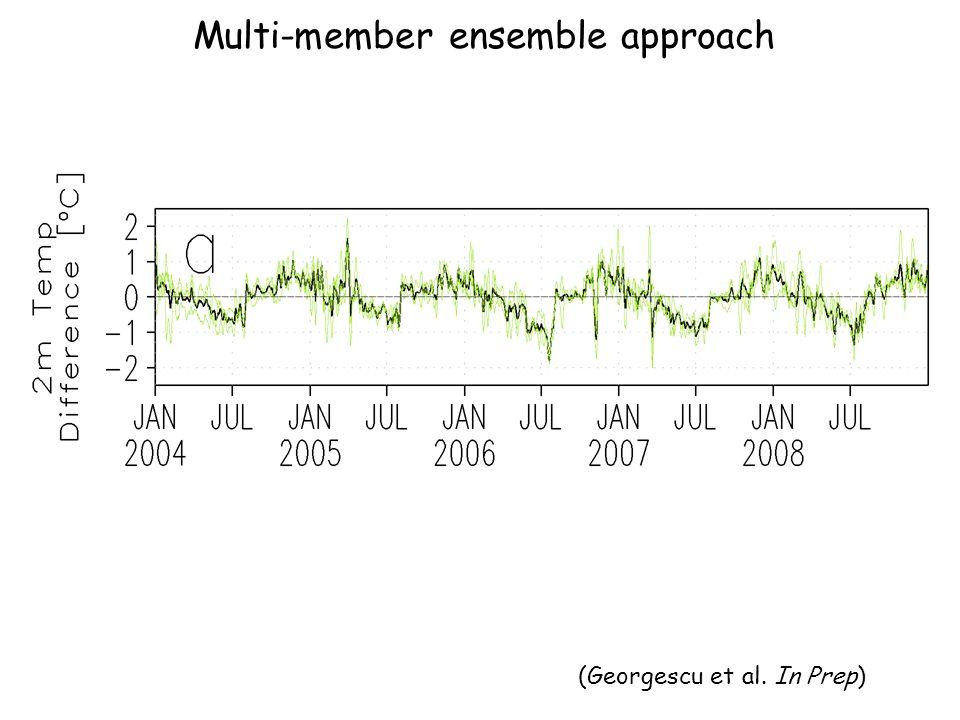 Multi-member ensemble approach (Georgescu et al. In Prep)