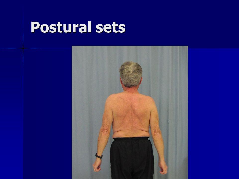 Postural sets