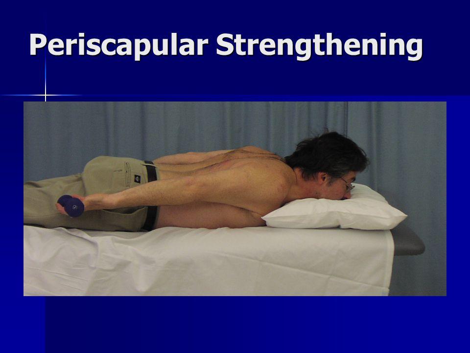 Periscapular Strengthening