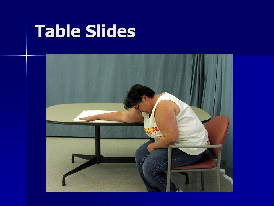 Table Slides