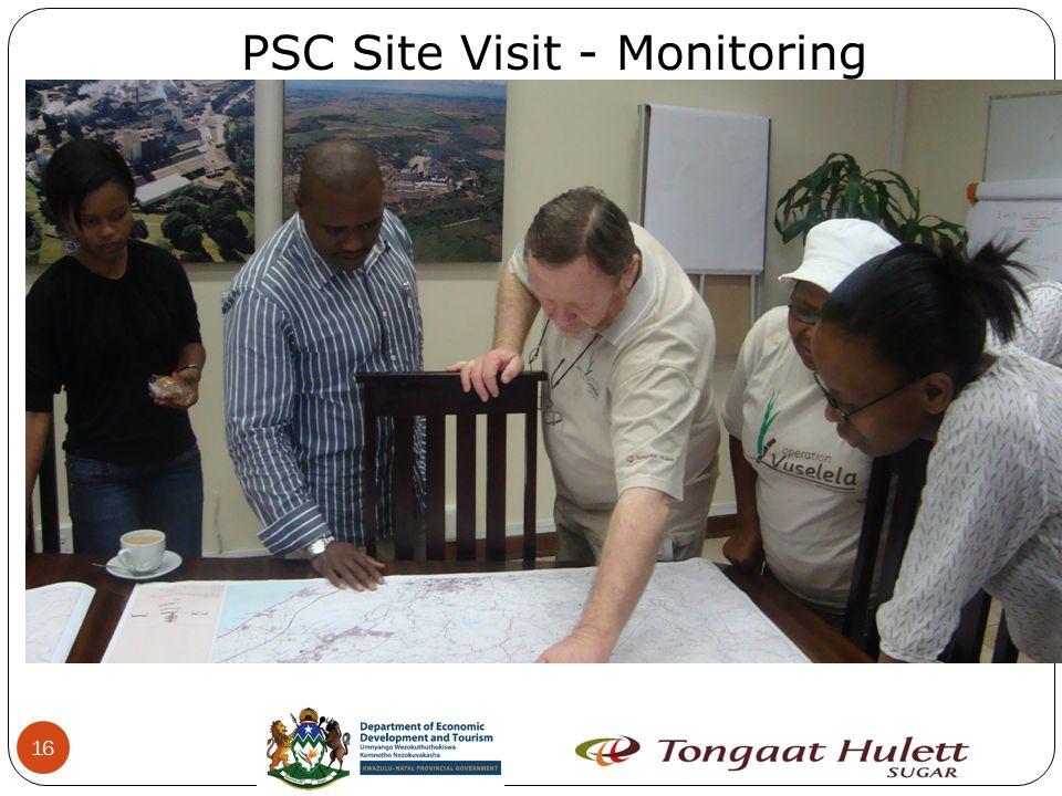 16 PSC Site Visit - Monitoring