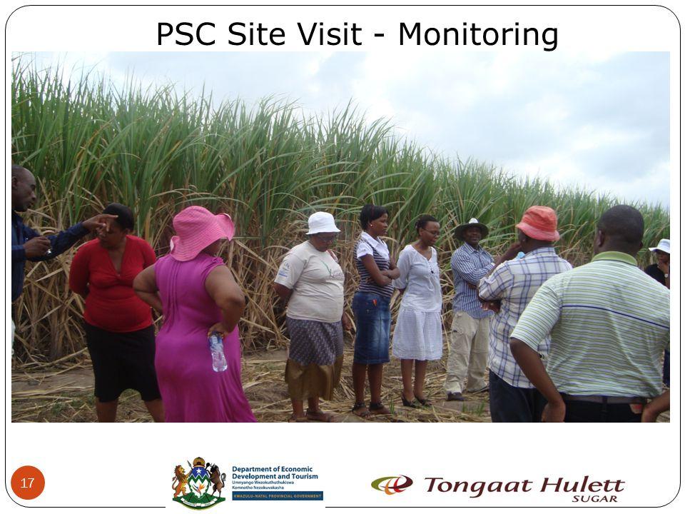 17 PSC Site Visit - Monitoring