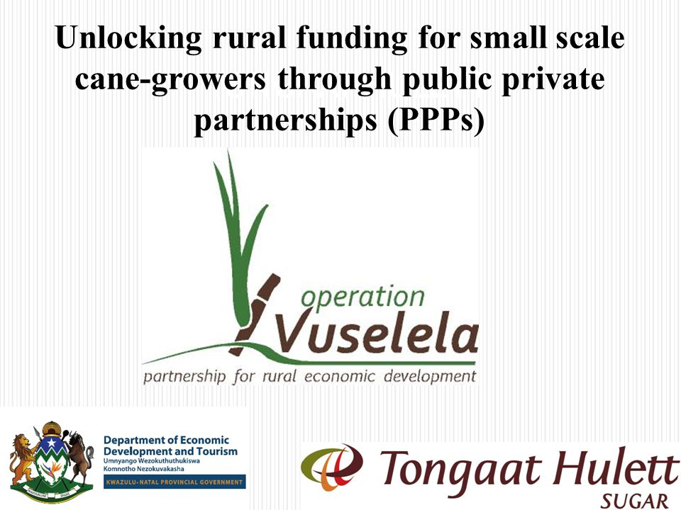 Benefits of this PPP to partners KZN DEDTTongaat Hulett 13 Local economic development.