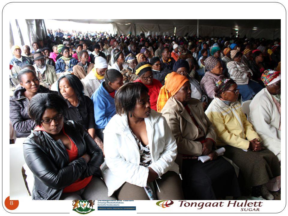 19 Mzobe 10 Ha Co-Operative 100 Ha Mthembu 5 Ha Msibi 20 Ha Sishi 20 Ha Ngidi 15 Ha Ngcobo 15 Ha Gumede 5 Ha Mbatha 10 Ha Lease agreement between legal entity & landholders Notes: 1 Grower Code