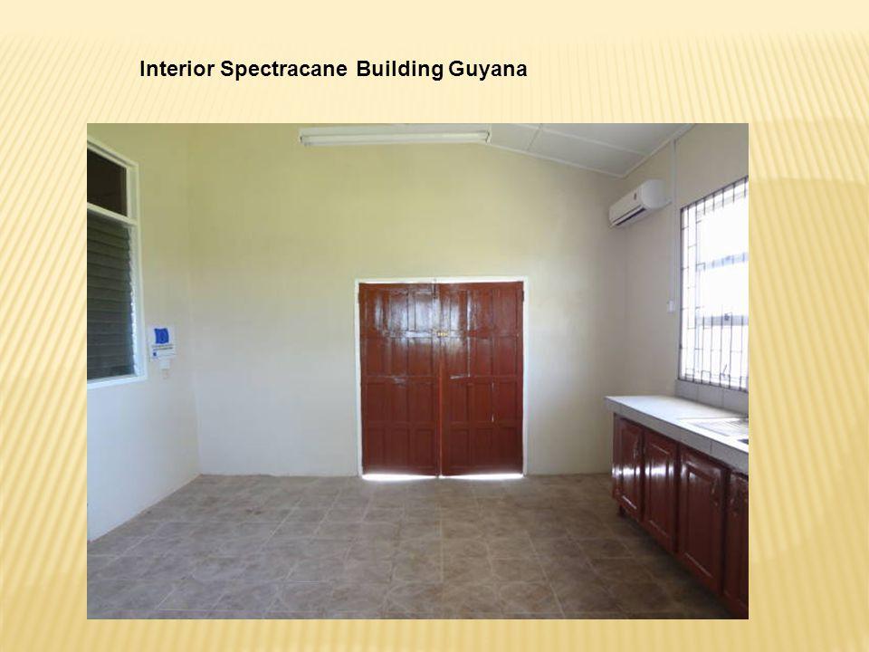 Interior Spectracane Building Guyana