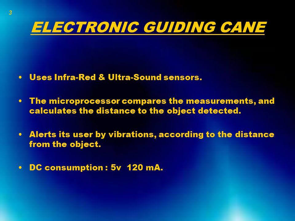 The Infra-Red sensor Sends an Infra-Red beam.Receives the beam returned.