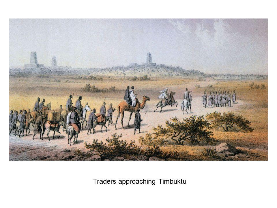 Traders approaching Timbuktu