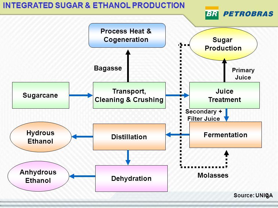 19 EVERYETHING STARTED IN 1925 FLEX FUEL 2003 Bioethanol Use in Brazil