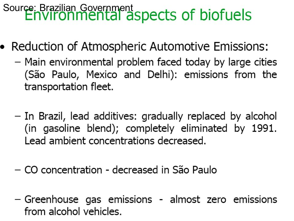 Source: Brazilian Government