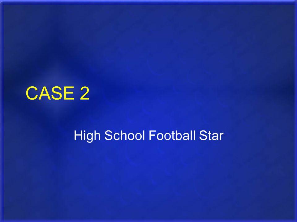 CASE 2 High School Football Star