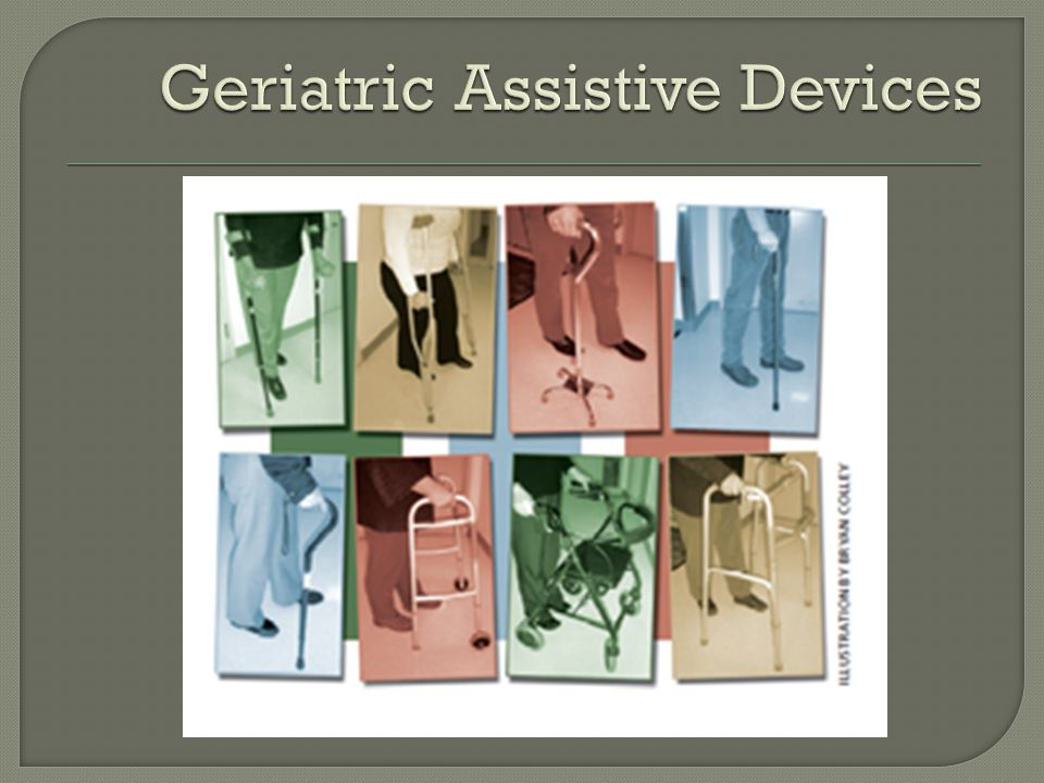 Geriatric Assistive Devices A front-wheeled walker has which one of the following advantages over other walkers.