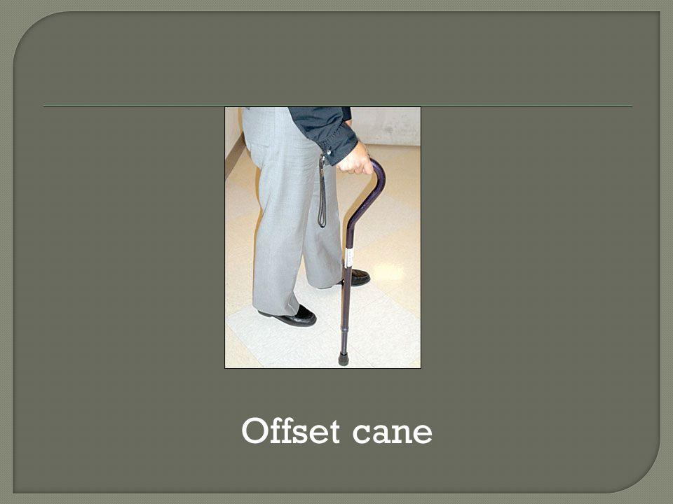 Offset cane