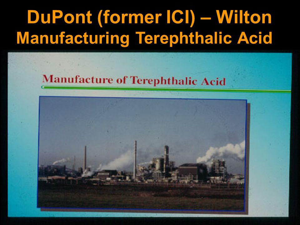 DuPont (former ICI) – Wilton Manufacturing Terephthalic Acid